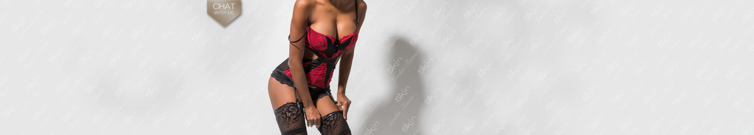 Short notice sensual massage in London banner